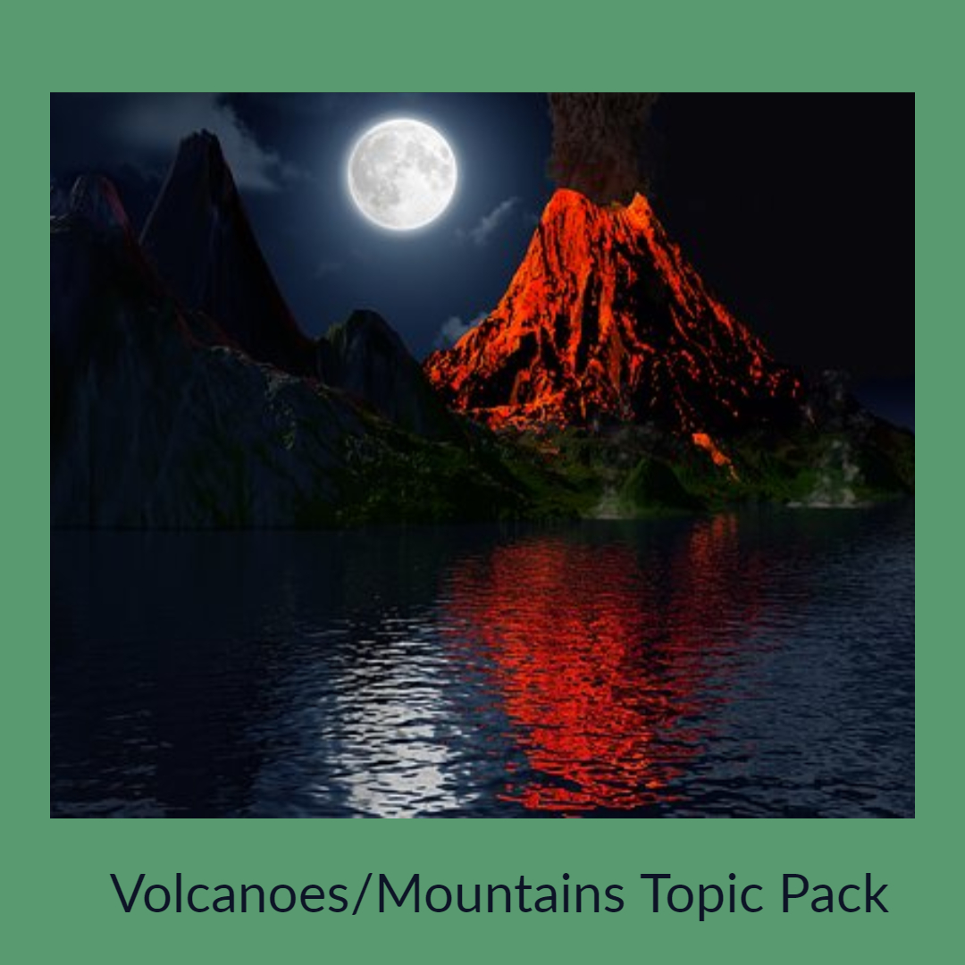volcanoes mountains