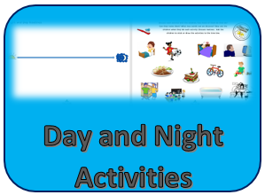 Day and Night Activities