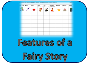 Features of Fairy story