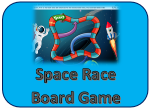 Space race Boardgame