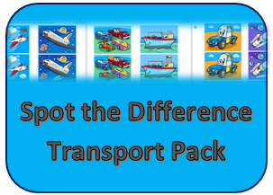 Spot Difference Transport