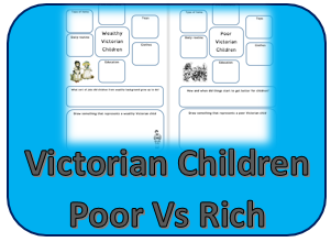 Victorian Children poor v rich