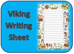 Viking writing sheet